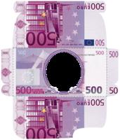 Конверт для денег с рамкой